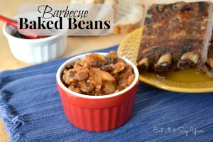 Barbecue baked beans 406 fb