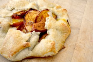 Fresh Peach Crostata