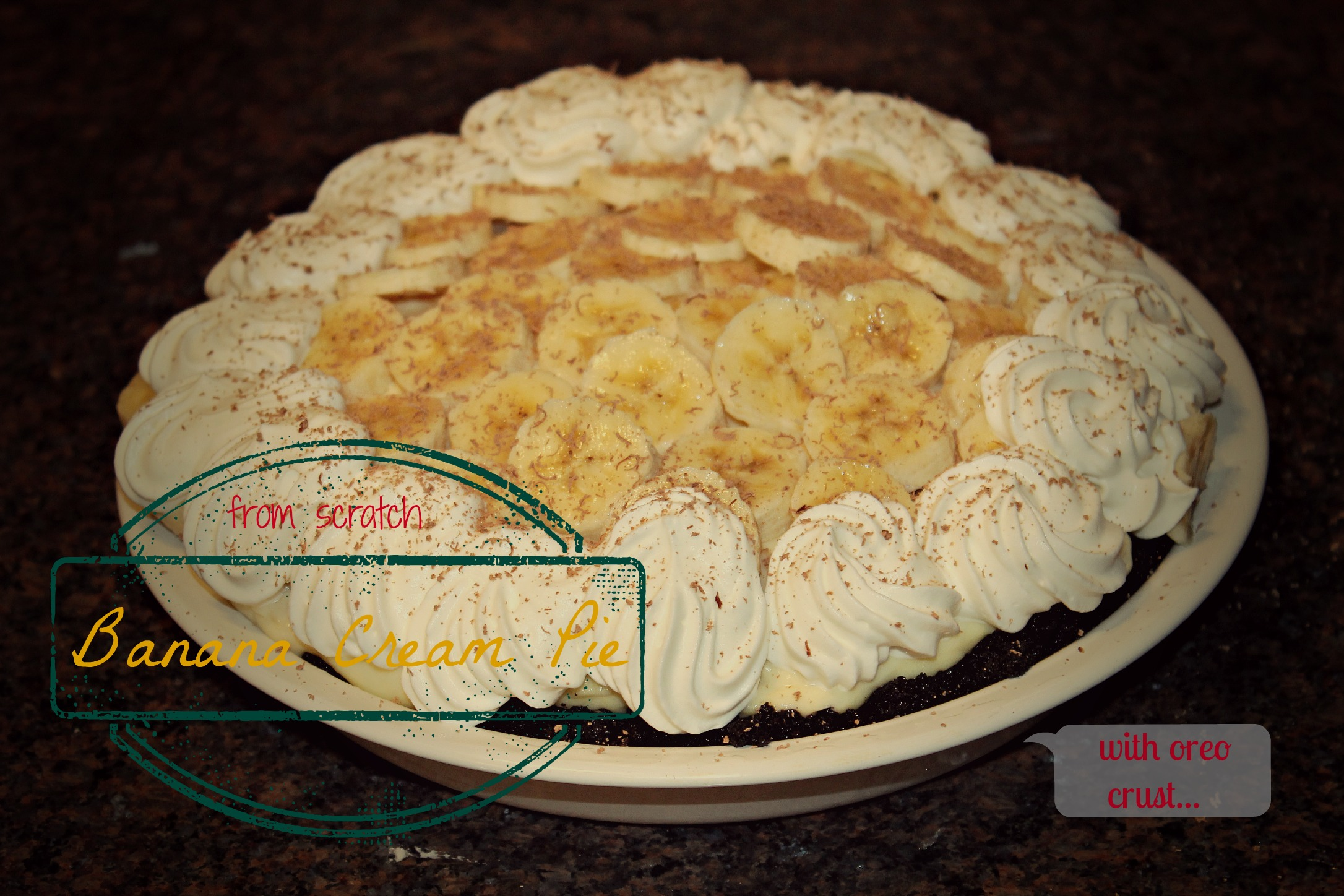 Banana Cream Pie: Eat It & Say Yum