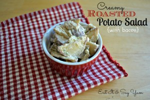 Creamy Roasted Potato Salad