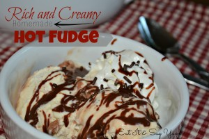Hot fudge Eat It & Say Yum