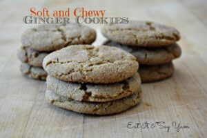 ginger cookies: Eat It & Say Yum
