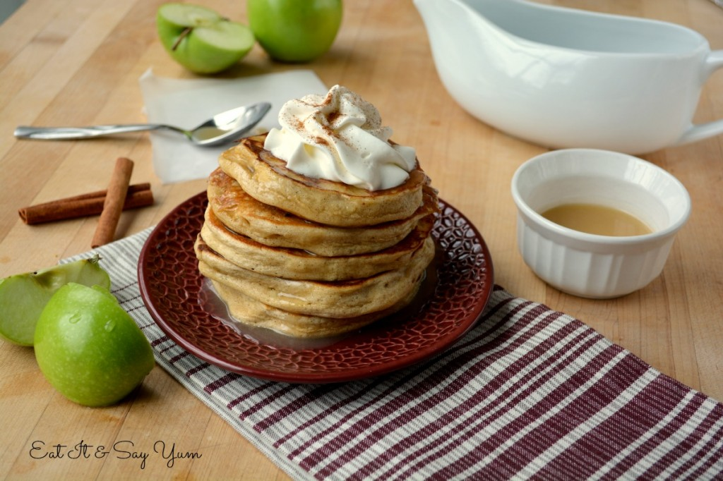 Apple Cinnamon Pancakes 478