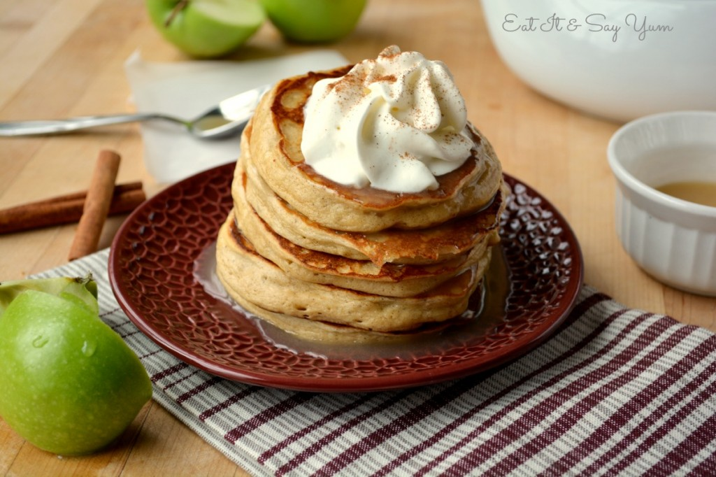 Apple Cinnamon Pancakes 491