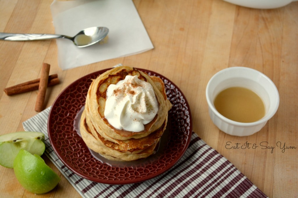 Apple Cinnamon Pancakes 501