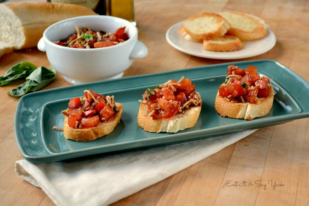 Bruschetta, Eat It & Say Yum