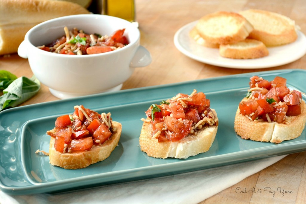 Bruschetta Eat It and Say Yum