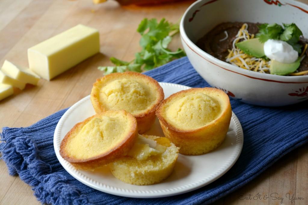 Sweet Corn Muffins 1