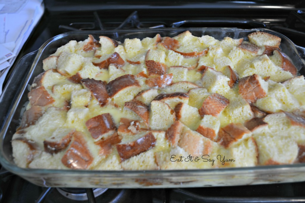 Baked Bread Pudding