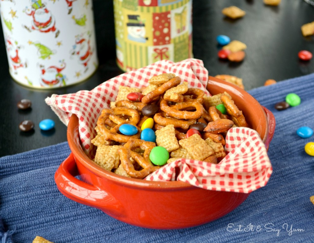 Carmel Chex Mix