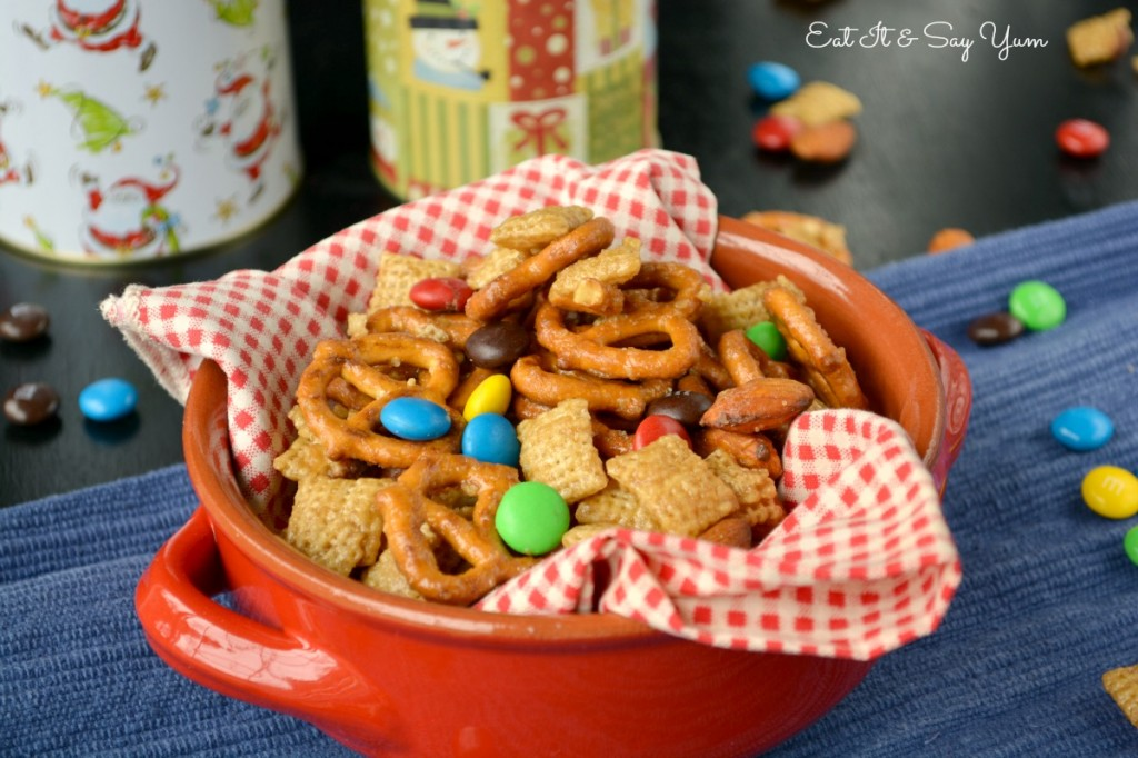 Carmel Chex Mix 2
