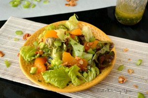 Sweet and Sour Salad with Mandarin Oranges