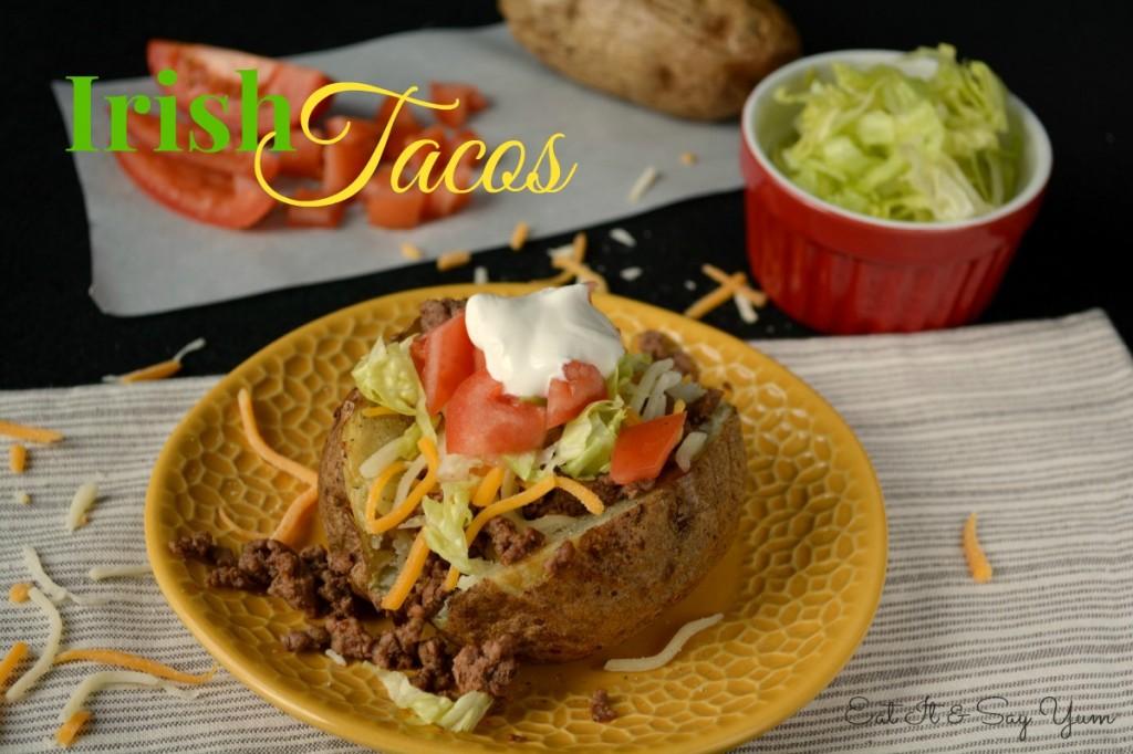 Irish Tacos from Eat It & Say Yum