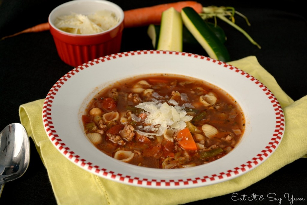 Minestrone Soup 378