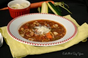 Minestrone Soup from Eat It & Say Yum