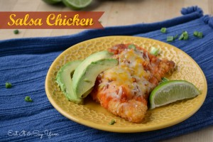 Crispy Salsa Chicken