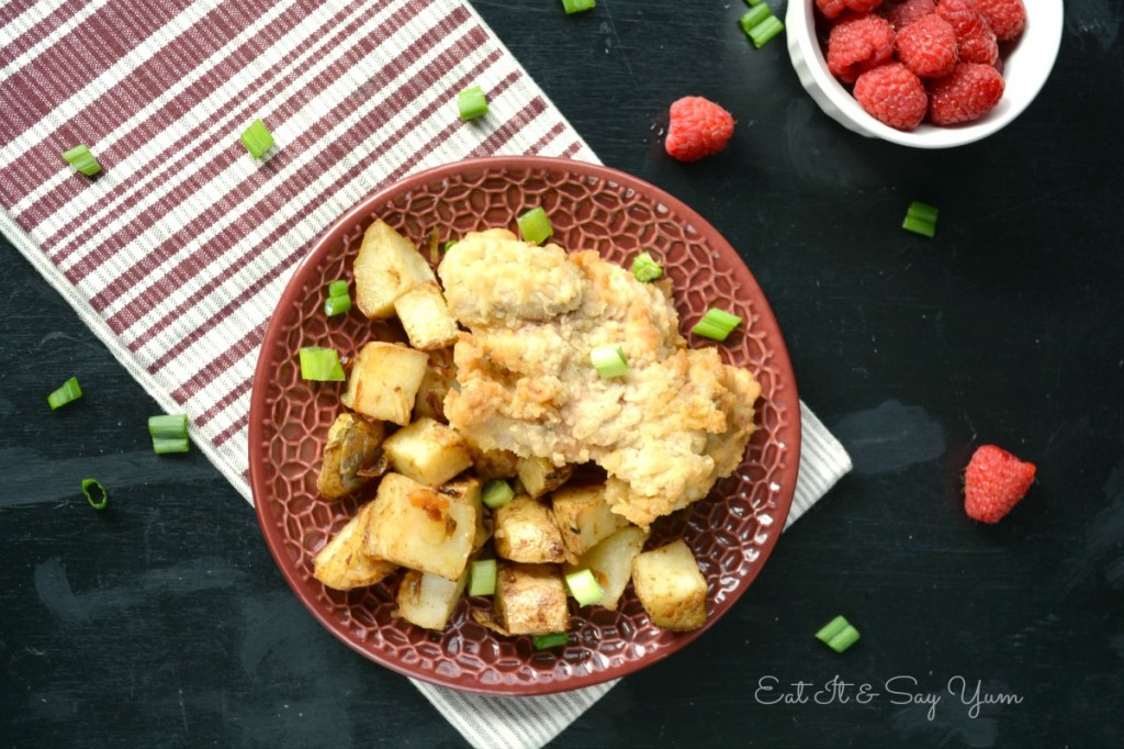 fried picnic basket chicken 468