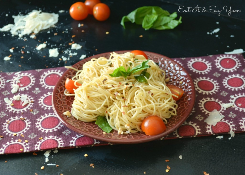 midnight Spaghetti, so fast and easy- even has a little kick to it!