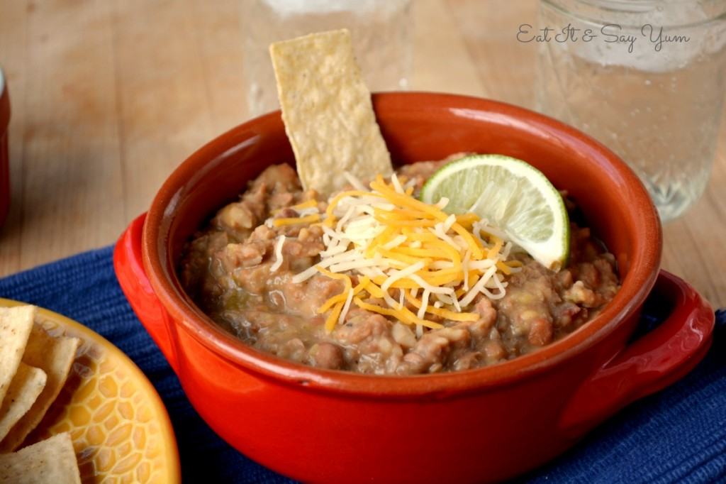 refried beans 402