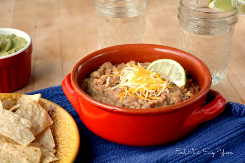 refried beans398
