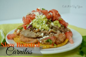 Slow Roasted Carnitas Tostadas