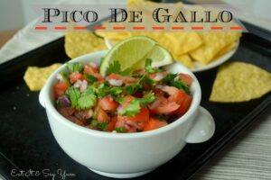 Fresh Pico De Gallo from Eat It & Say Yum 791