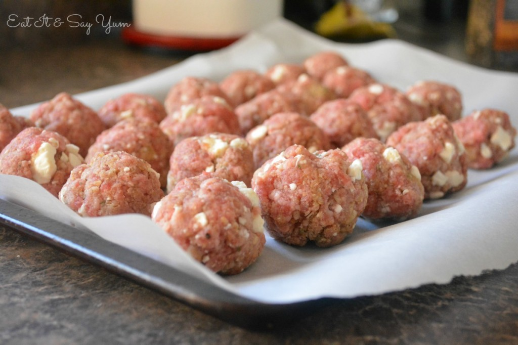 Raw Cheese Meatballs 465