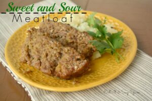 Sweet and Sour Meatloaf from Eat It & Say Yum