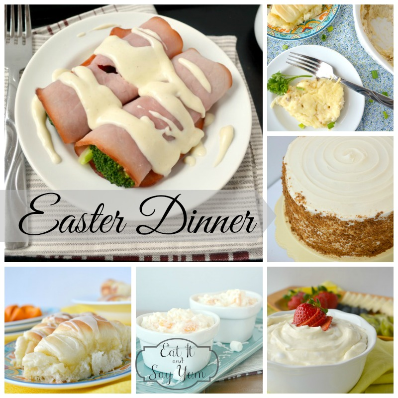 Complete Easter Meal from Eat It & Say Yum