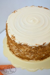 Fresh Carrot Cake with ginger snap crumbles 861