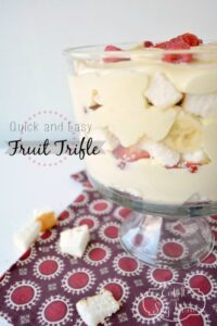 Easy summer Trifle, quick to throw together, and tastes delicious 1
