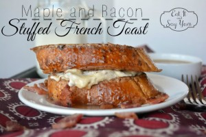 Maple and Bacon Stuffed French Toast  1
