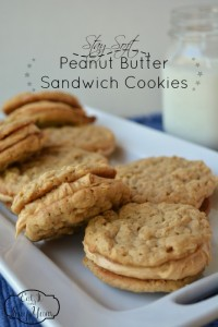 Stay Soft Peanut Butter Sandwich Cookies from Eat It & Say Yum
