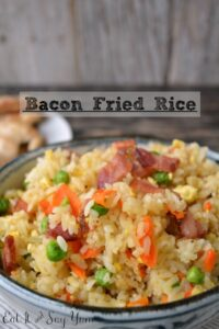 Bacon Fried Rice from Eat It & Say Yum