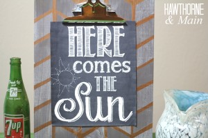 Here comes the sun printable 3