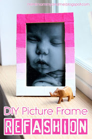 Ombre-Pink-Ikea-Picture-Frame-Craft-Title