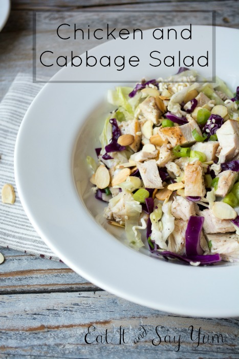 Chicken and Cabbage Salad from Eat It & Say Yum