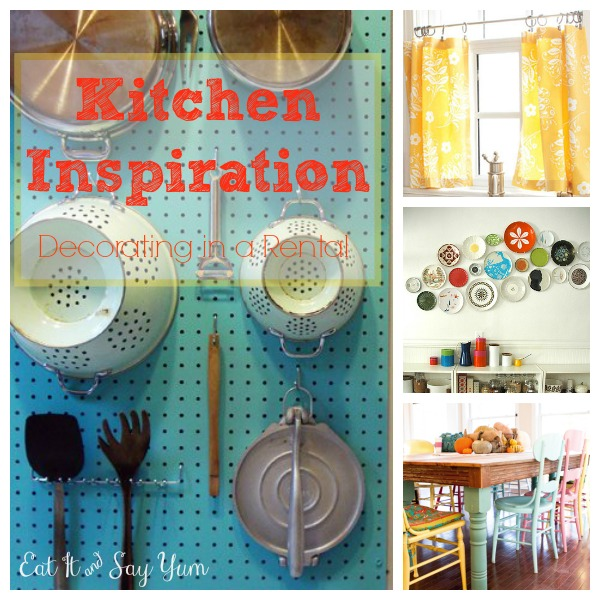 Decorating in a Rental- Kitchens