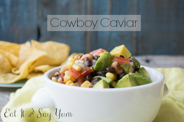 Cowboy Caviar by Eat It & Say Yum