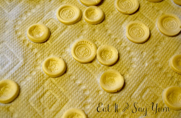 Fondant Gold Coins