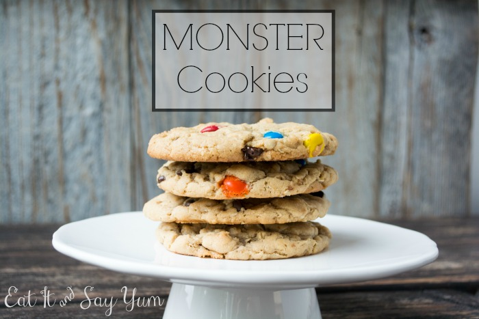 Monster Cookies from Eat It & Say Yum