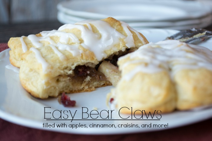 {Shortcut} Bear Claws