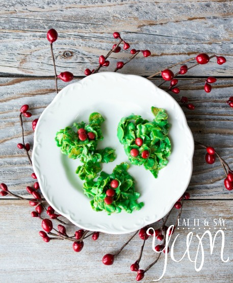 'Holly and Berries' Cookies