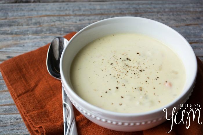 Potato Cheese Soup- like Mom makes…
