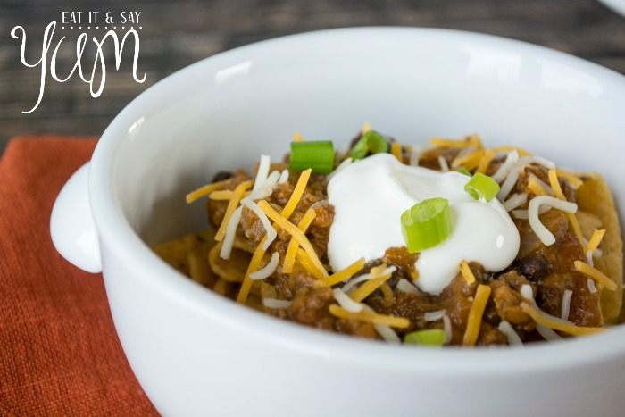 Pumpkin Chili from Eat It & Say Yum