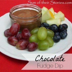 chocolate fudge dip