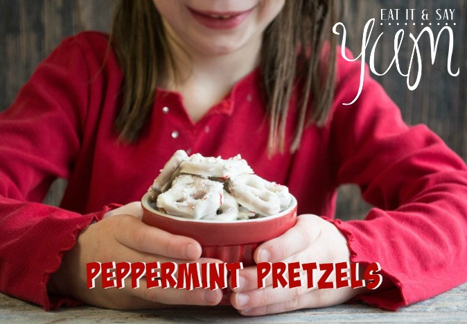 Peppermint Pretzels