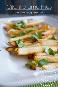Cilantro Fries from eatitandsayyum.com