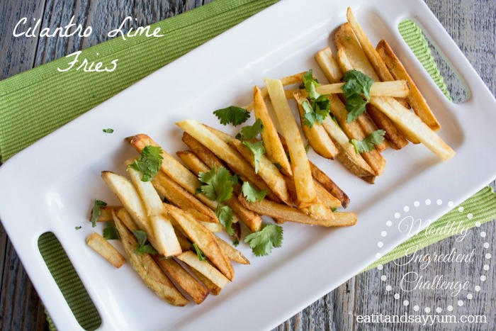 Cilantro Lime Fries from eatitandsayyum.com