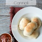 Italian Sausage Cannoli- with a hand held twist